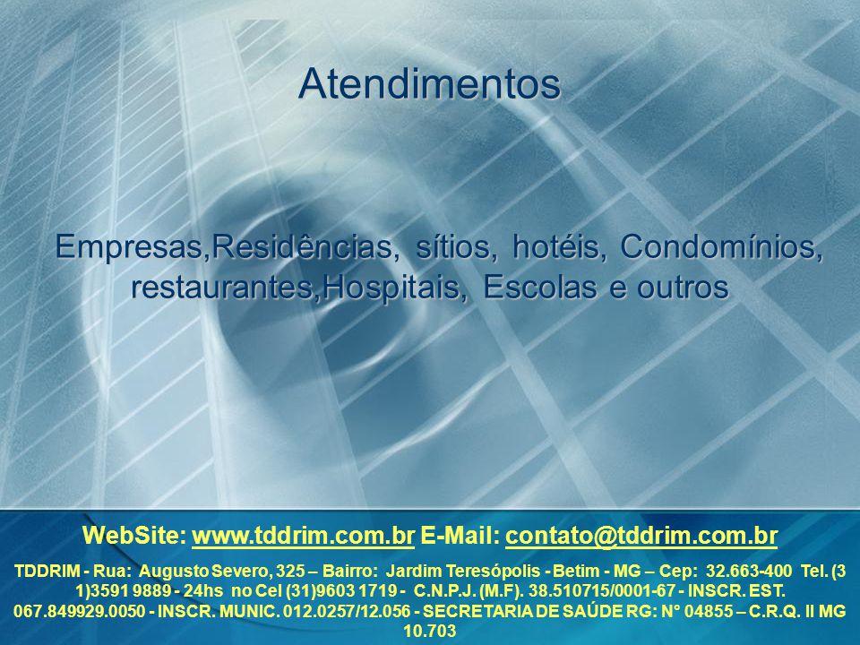 WebSite: www.tddrim.com.br E-Mail: contato@tddrim.com.br