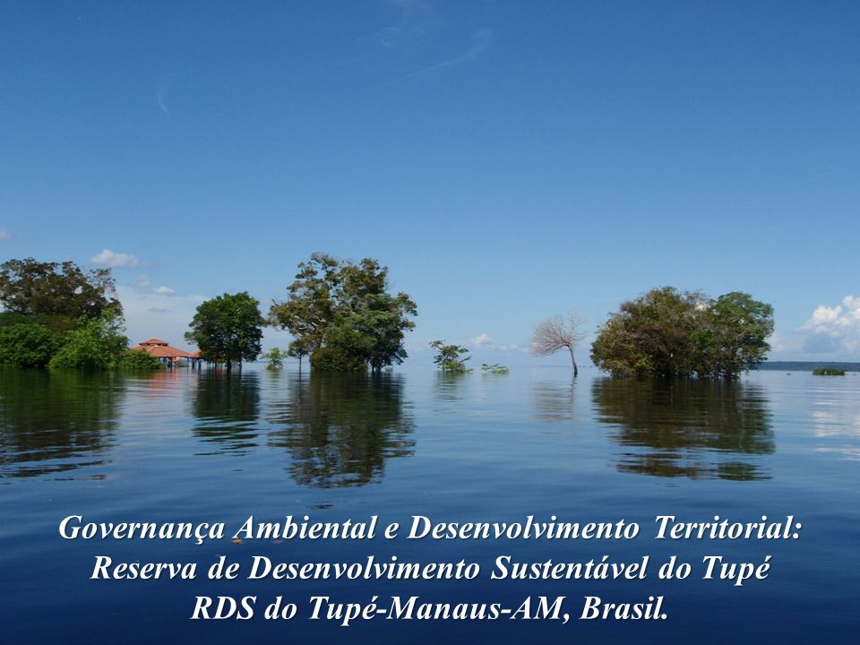 RDS do Tupé-Manaus-AM, Brasil.