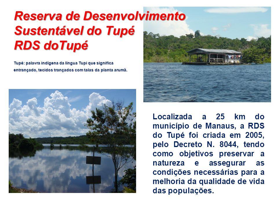 Reserva de Desenvolvimento Sustentável do Tupé RDS doTupé