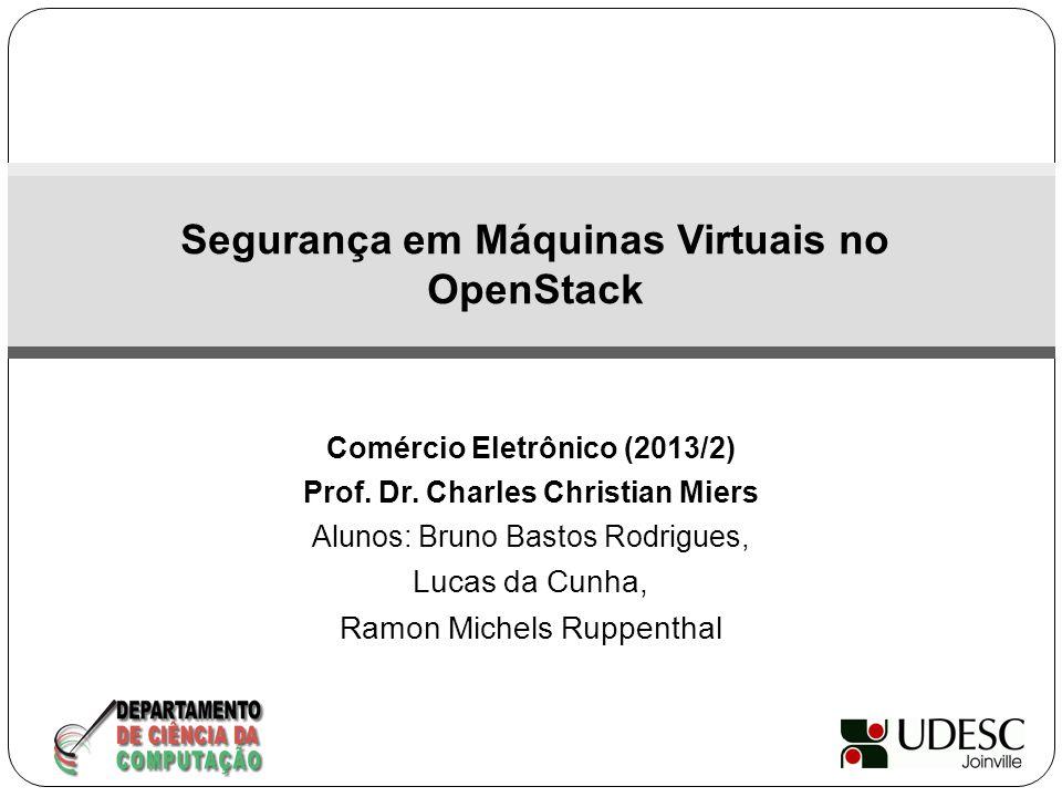 Segurança em Máquinas Virtuais no OpenStack