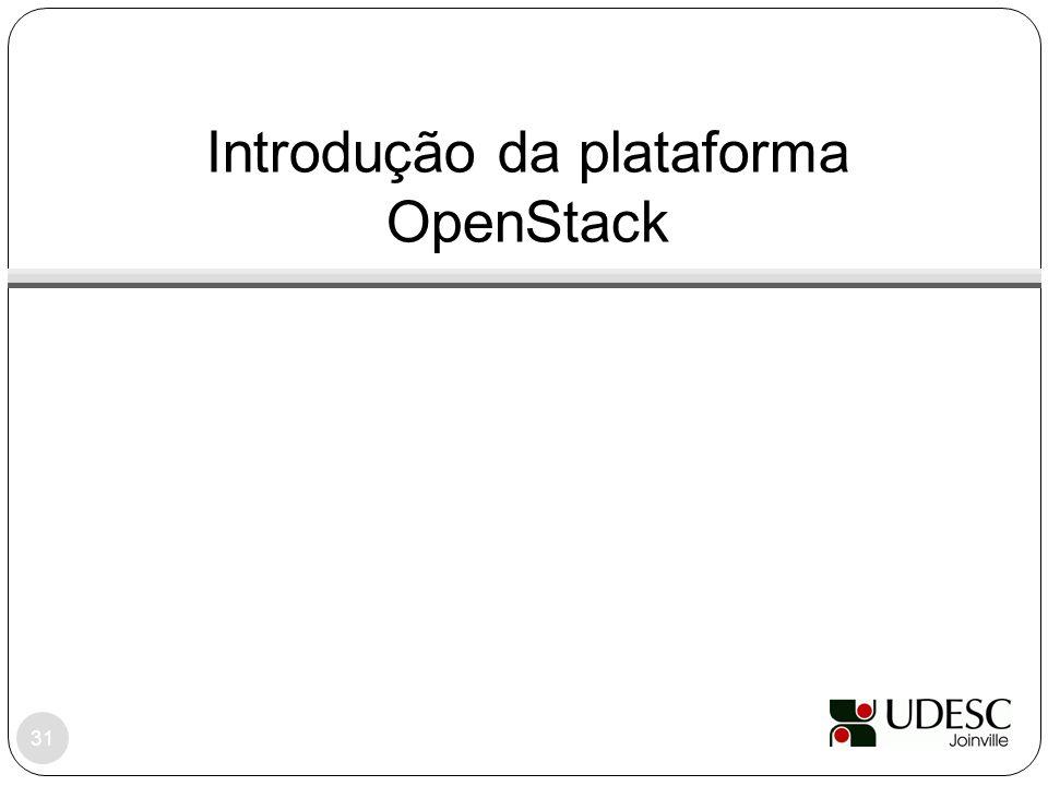 Introdução da plataforma OpenStack