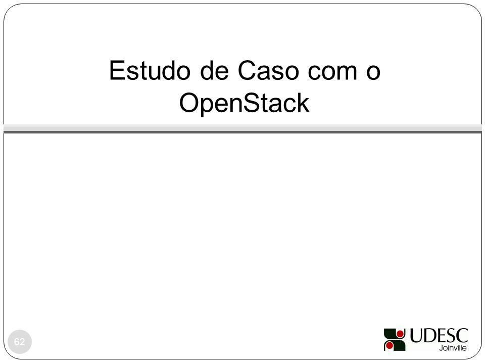 Estudo de Caso com o OpenStack