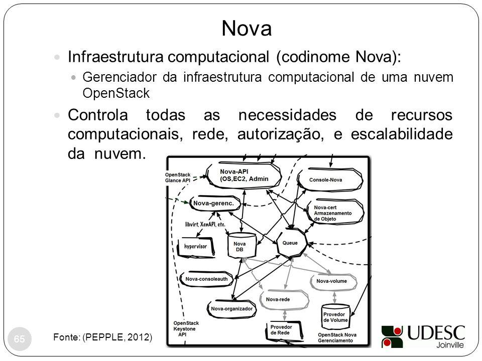 Nova Infraestrutura computacional (codinome Nova):