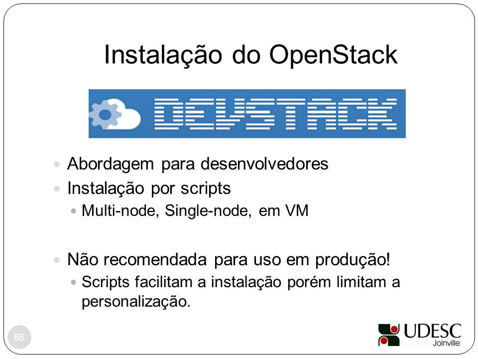 Instalação do OpenStack