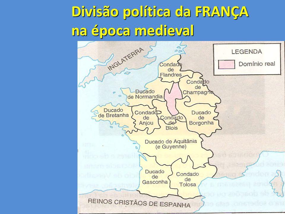 Divisão política da FRANÇA