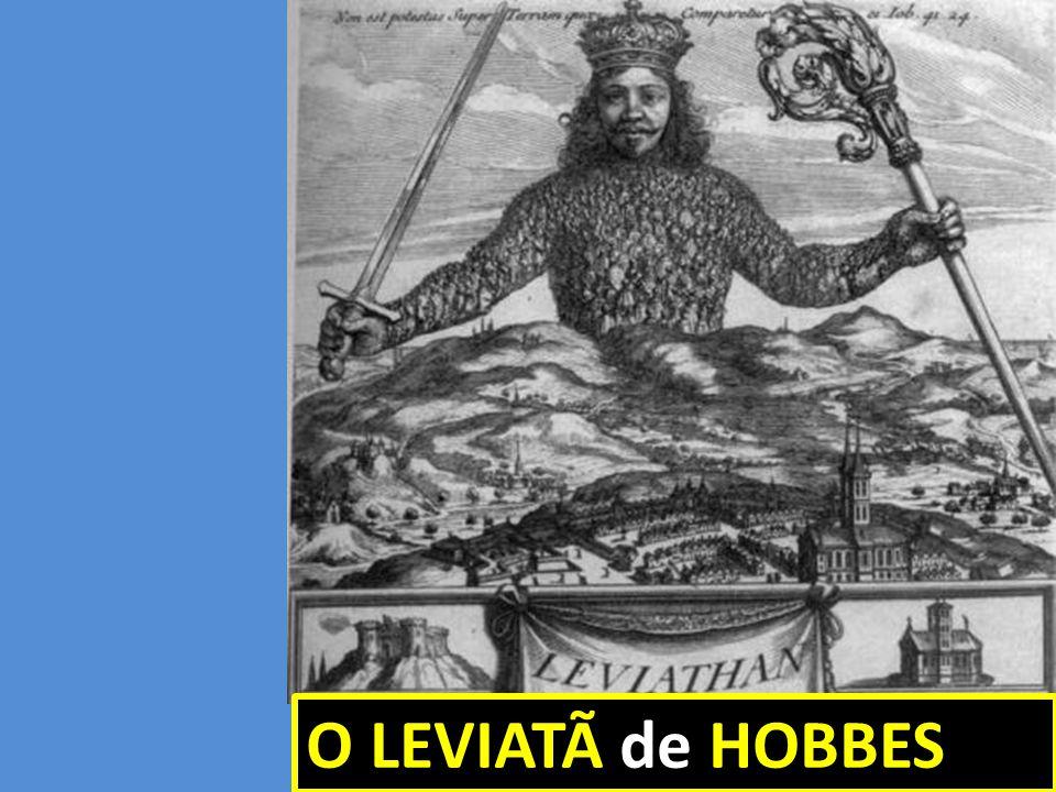 O LEVIATÃ de HOBBES