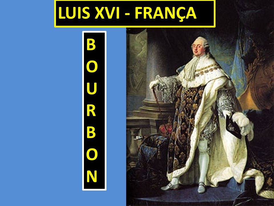 LUIS XVI - FRANÇA BOURBON 39