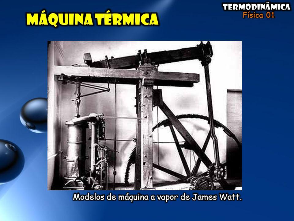 Modelos de máquina a vapor de James Watt.