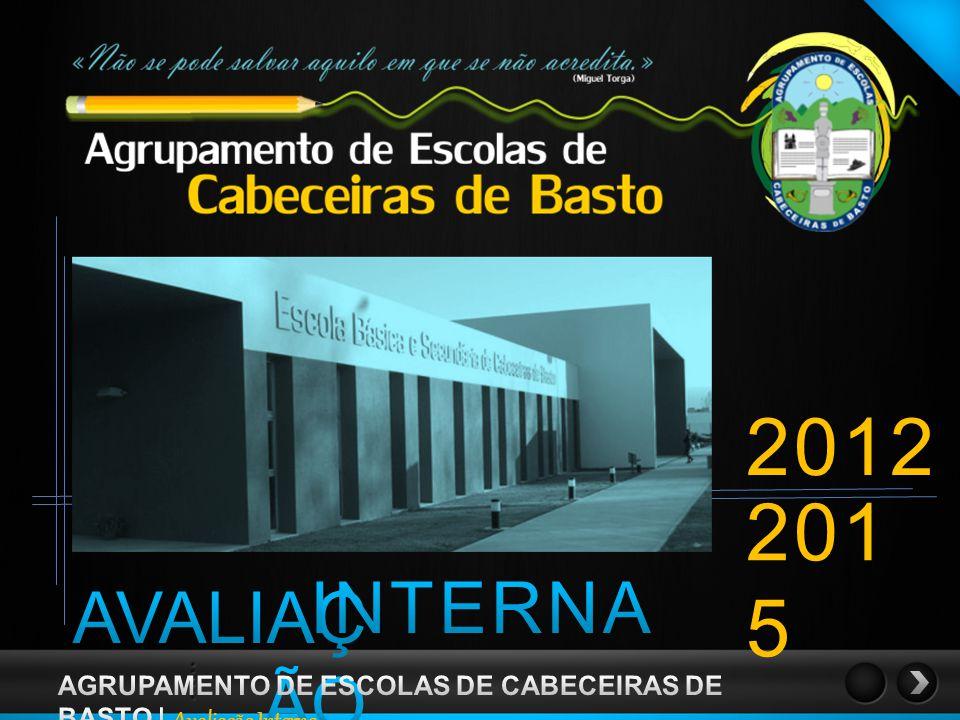 2012 2015 INTERNA AVALIAÇÃO AGRUPAMENTO DE ESCOLAS DE CABECEIRAS DE BASTO | Avaliação Interna