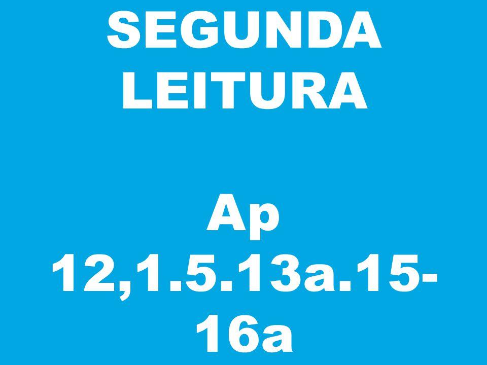 SEGUNDA LEITURA Ap 12,1.5.13a.15-16a