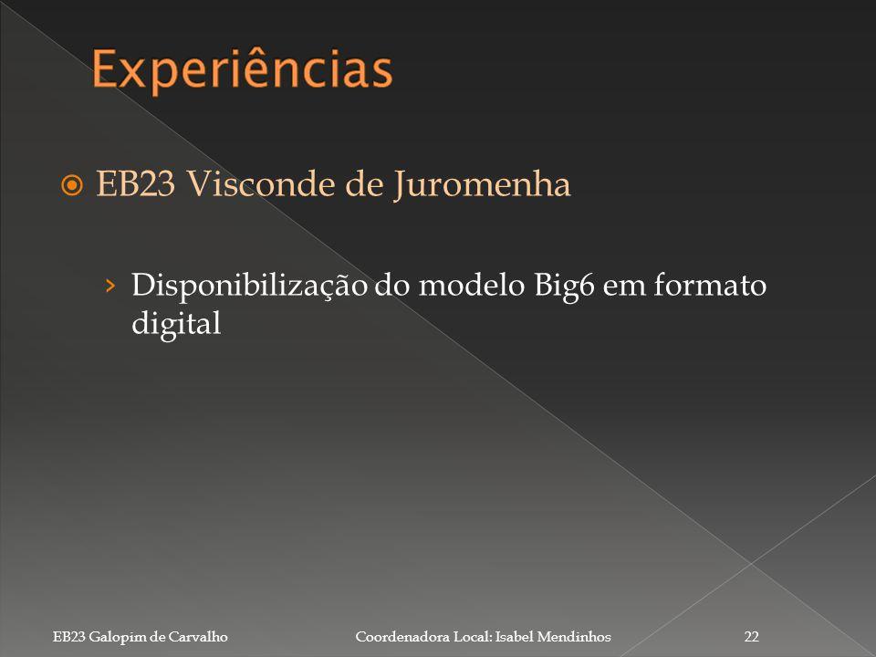 Experiências EB23 Visconde de Juromenha