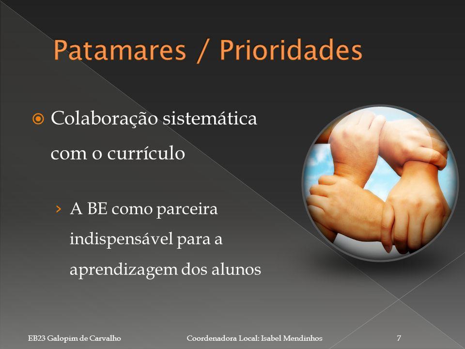 Patamares / Prioridades