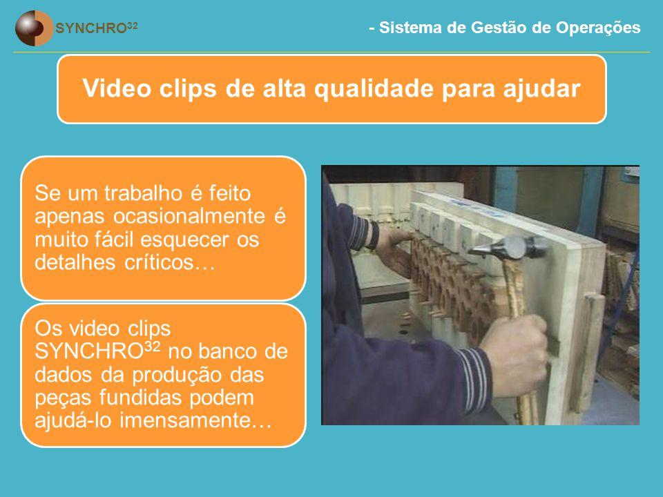 Video clips de alta qualidade para ajudar