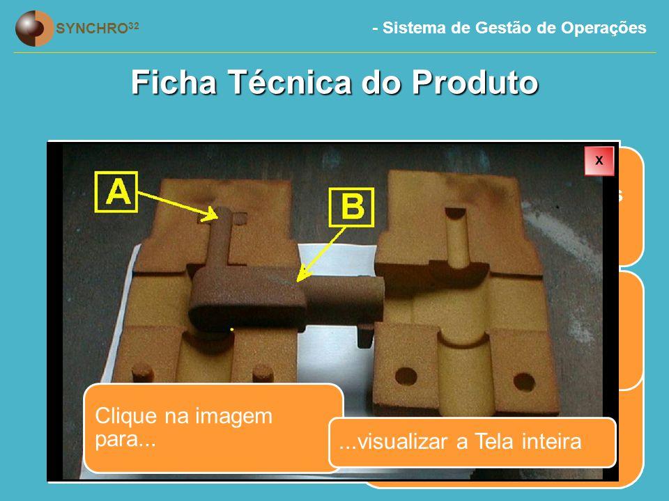 Ficha Técnica do Produto