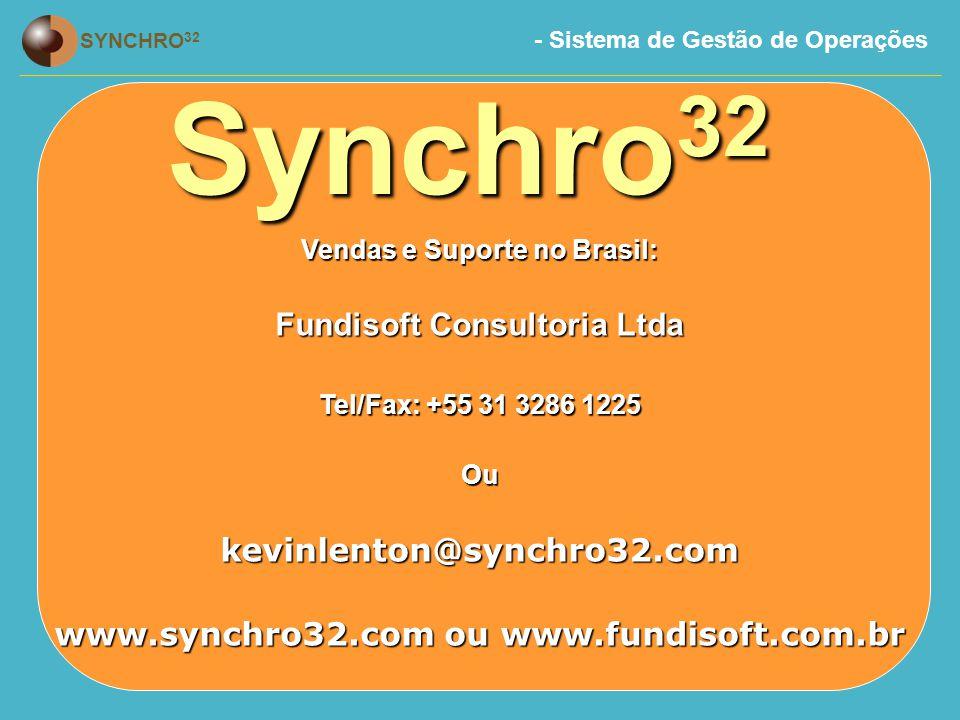 Synchro32 Fundisoft Consultoria Ltda kevinlenton@synchro32.com