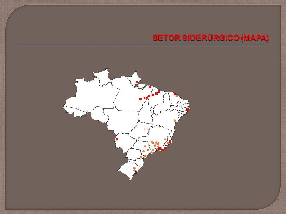 SETOR SIDERÚRGICO (MAPA)
