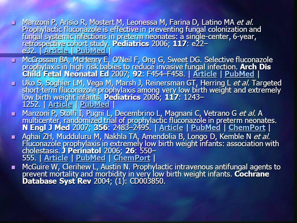 Manzoni P, Arisio R, Mostert M, Leonessa M, Farina D, Latino MA et al