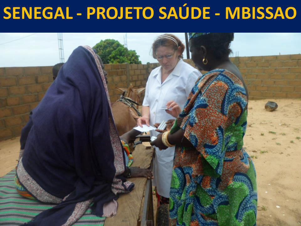 SENEGAL - PROJETO SAÚDE - MBISSAO