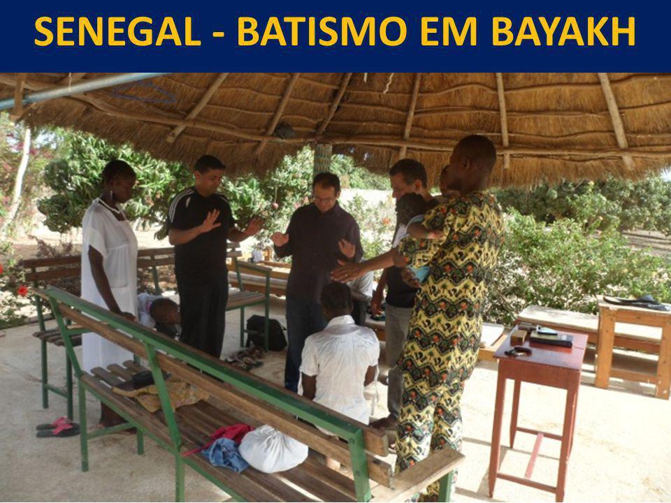 SENEGAL - Batismo em bayakh