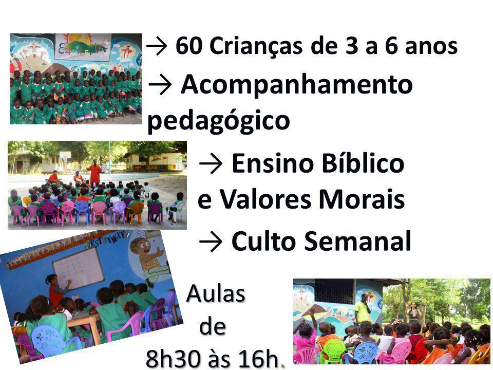 → Acompanhamento pedagógico → Ensino Bíblico e Valores Morais