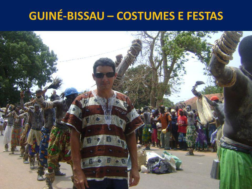 GUINÉ-BISSAU – COSTUMES E FESTAS