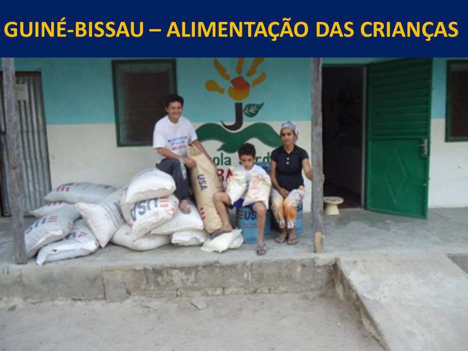 GUINÉ-BISSAU – ALIMENTAÇÃO DAS CRIANÇAS