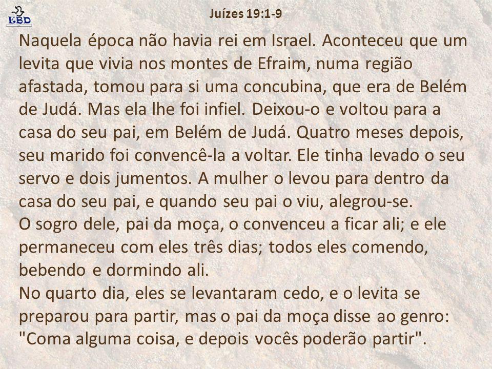 Juízes 19:1-9
