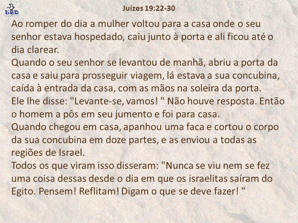 Juízes 19:22-30