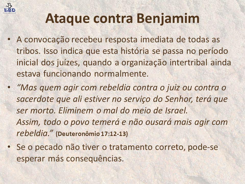 Ataque contra Benjamim
