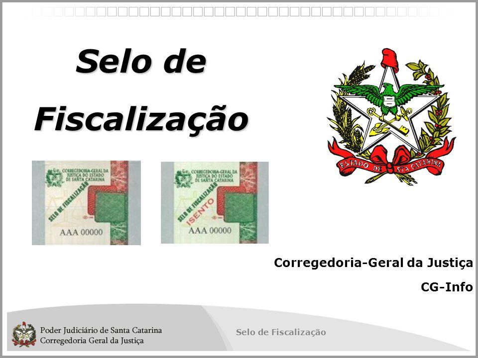 Selo de Fiscalização Corregedoria-Geral da Justiça CG-Info