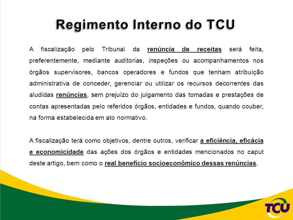 Regimento Interno do TCU