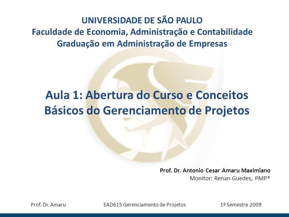 EAD615 Gerenciamento de Projetos