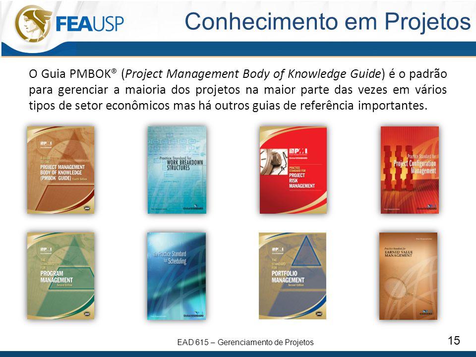 Conhecimento em Projetos
