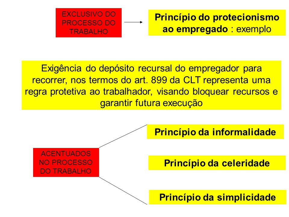 Princípio do protecionismo ao empregado : exemplo