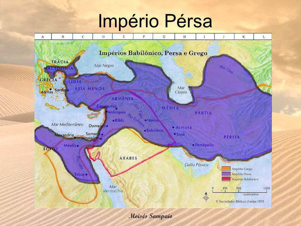 Império Pérsa Moisés Sampaio