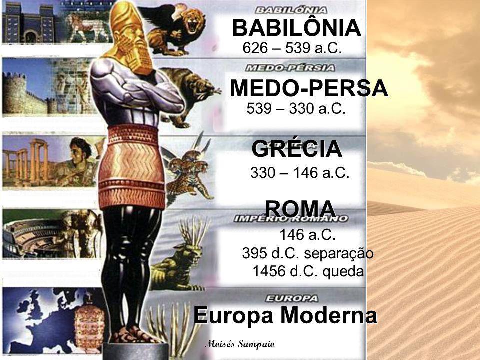 146 a.C. 395 d.C. separação 1456 d.C. queda