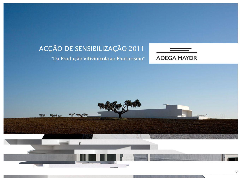 ACÇÃO DE SENSIBILIZAÇÃO 2011 Da Produção Vitivinícola ao Enoturismo