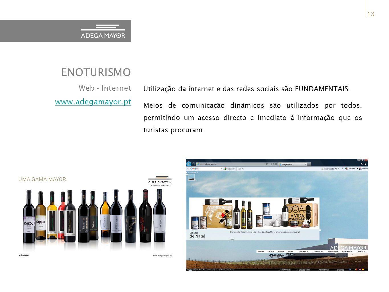 ENOTURISMO Web - Internet www.adegamayor.pt