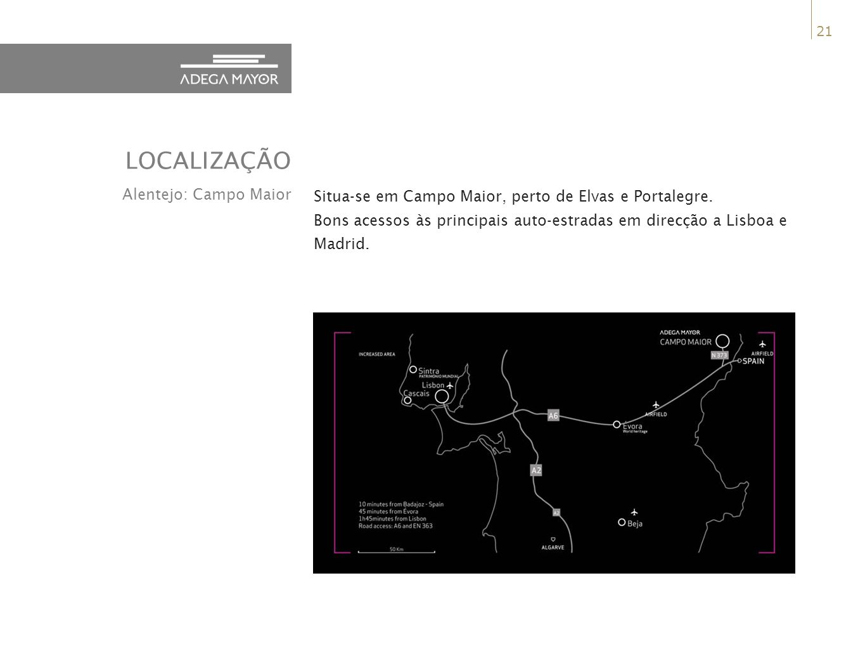 LOCALIZAÇÃO Alentejo: Campo Maior