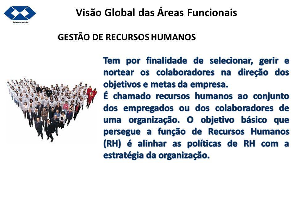 Visão Global das Áreas Funcionais