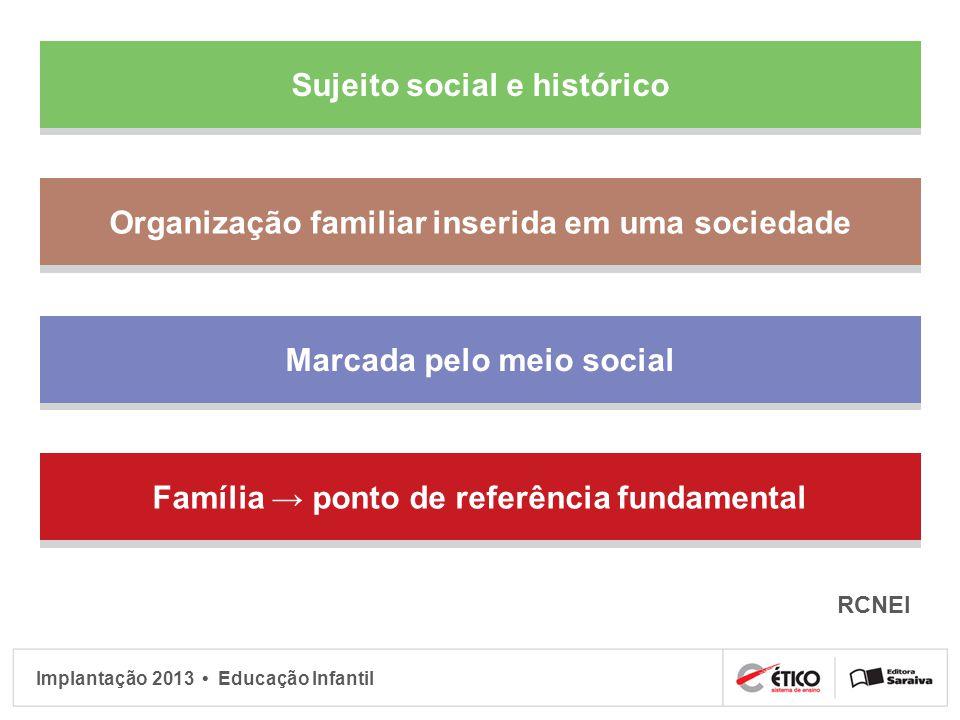 Sujeito social e histórico