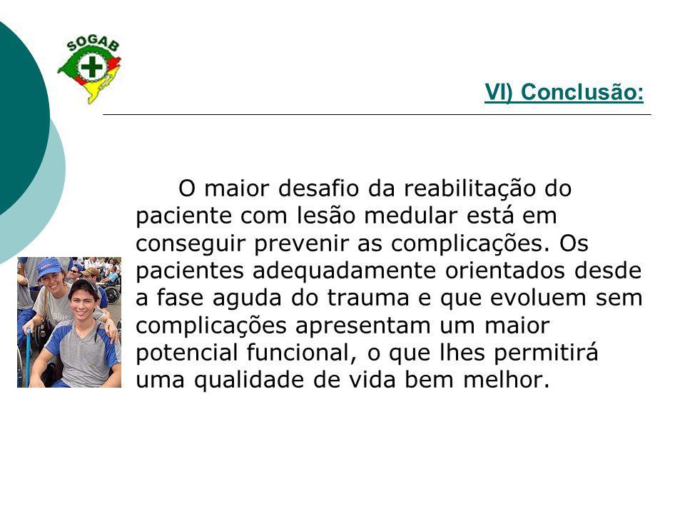 VI) Conclusão: