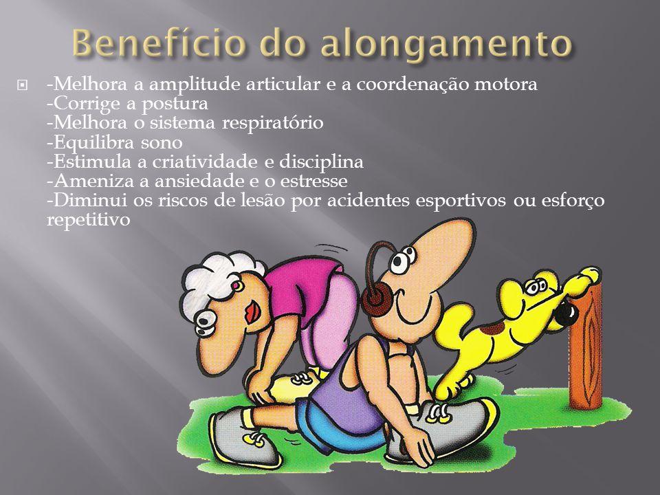 Benefício do alongamento