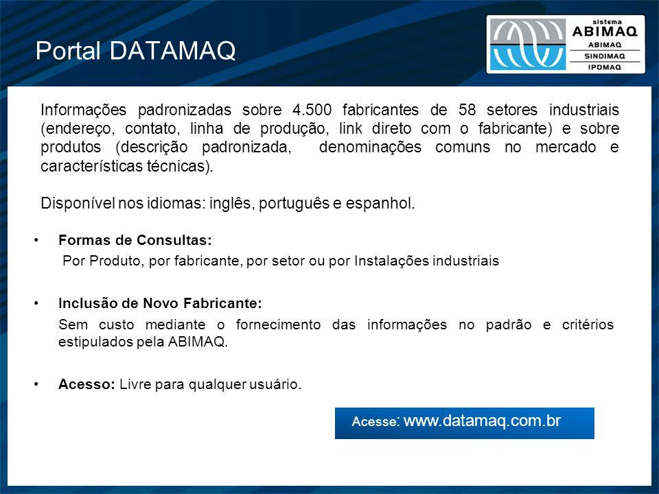 Acesse: www.datamaq.com.br