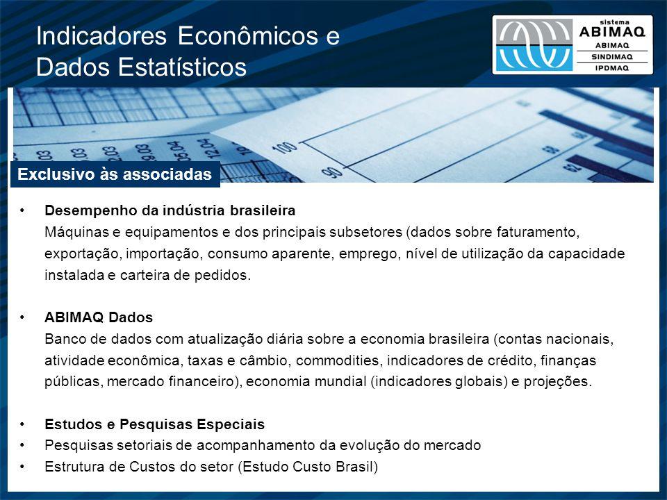 Indicadores Econômicos e Dados Estatísticos
