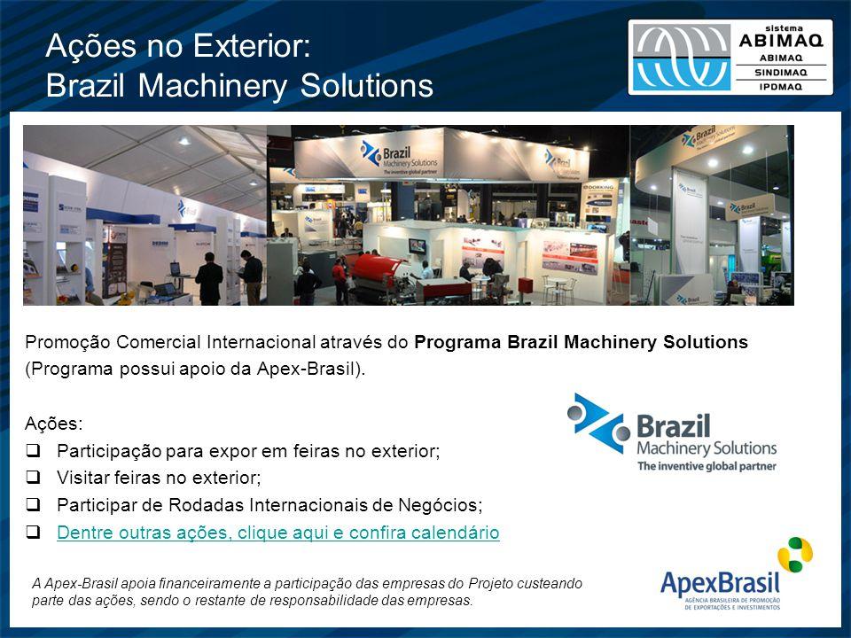 Ações no Exterior: Brazil Machinery Solutions