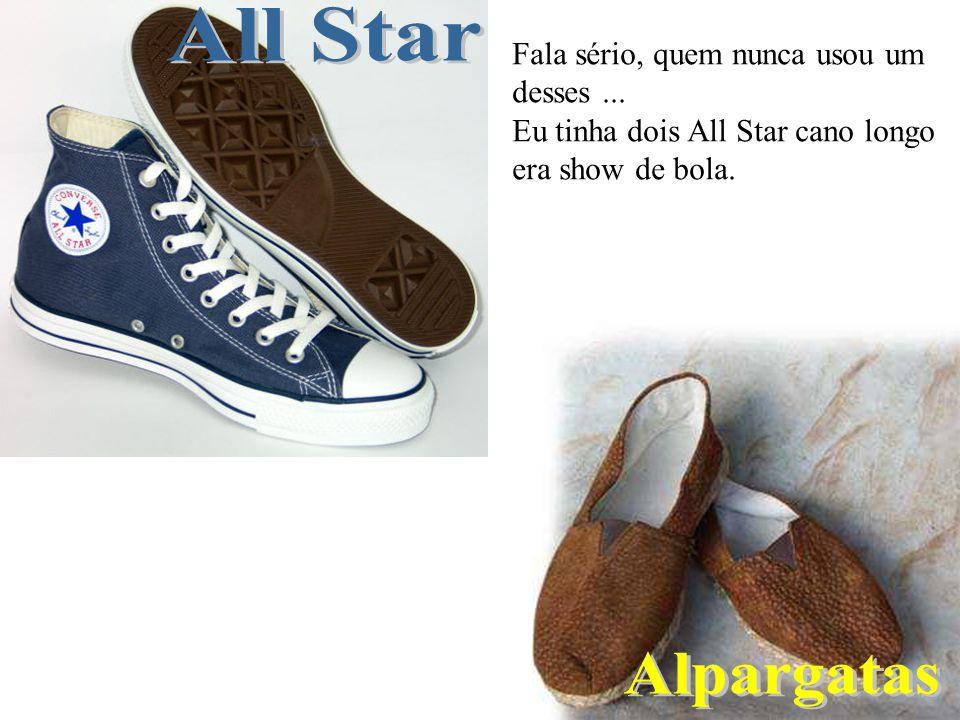 All Star Alpargatas Fala sério, quem nunca usou um desses ...