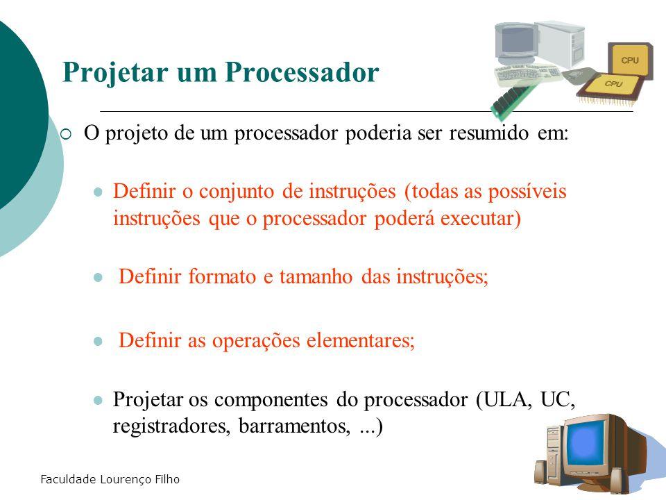 Projetar um Processador