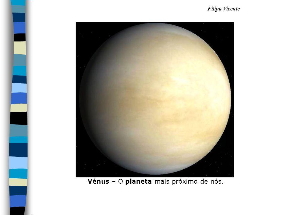 Vénus – O planeta mais próximo de nós.
