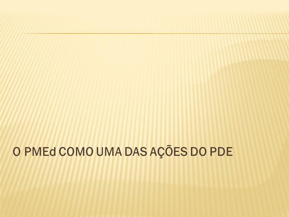 O PMEd COMO UMA DAS AÇÕES DO PDE